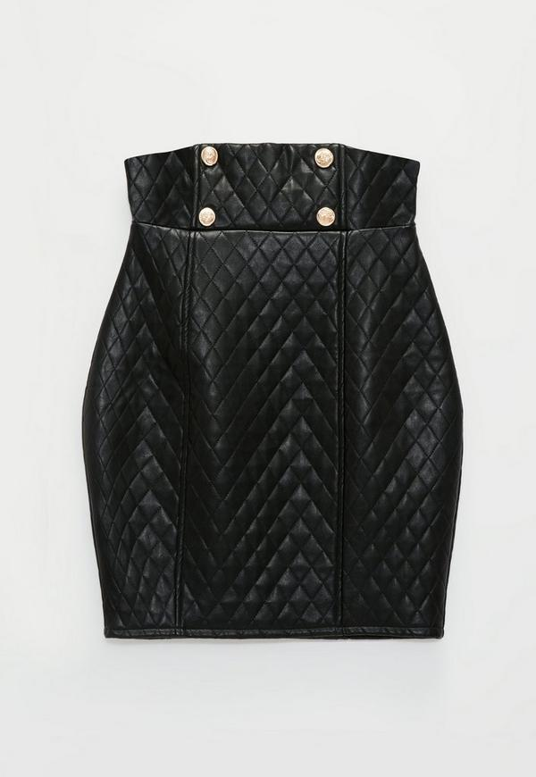 John Collection Quilted Leather Trim Milano Knit Jacket - Shop for women's Jacket Find this Pin and more on Clothes to remodel by DAMARIS BAHAMON. Black jacket features quilted faux leather trim around the cuffs, neckline and hem.