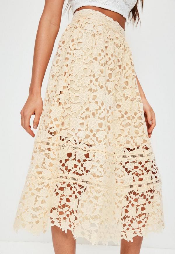 nude in half skirt