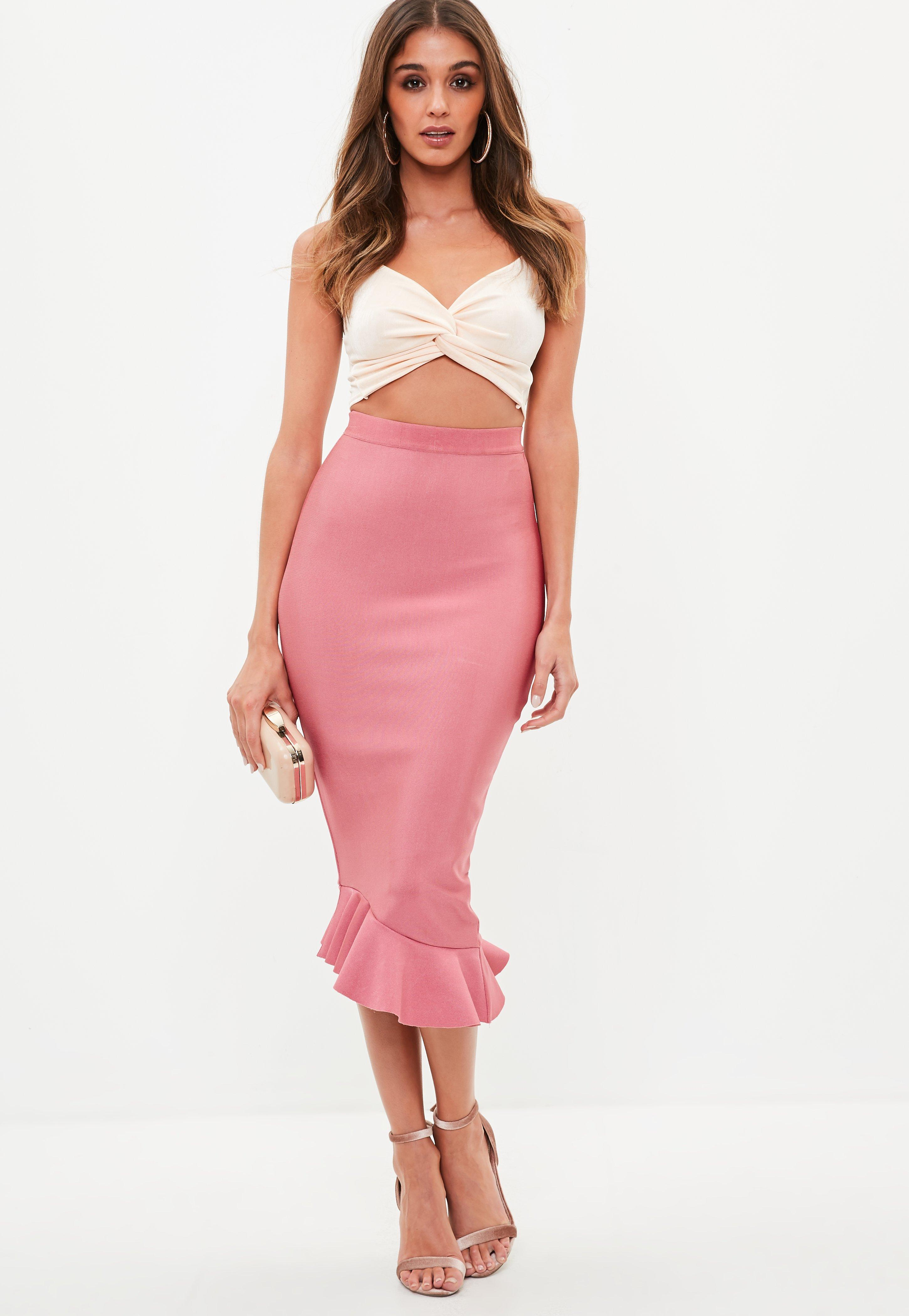 pencil skirts - fitted skirts & tube skirts online | missguided