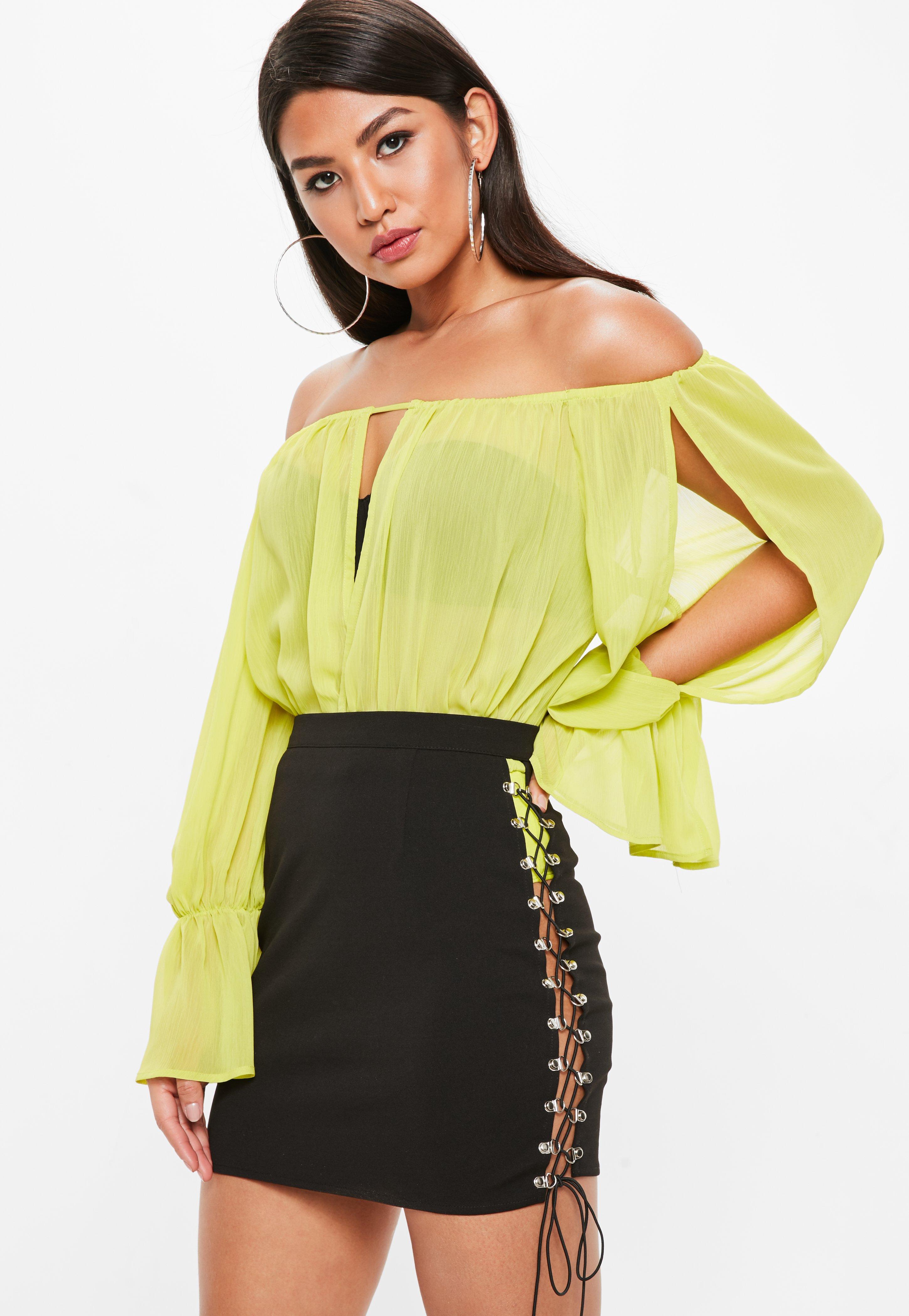 Missguided Eyelet Side Detail Mini Skirt For Nice Cheap Online qufegnvm