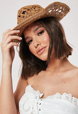Загар с вырезом Подробнее Западная соломенная шляпа