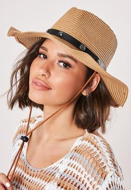 Tan Cow Boy Western Hat