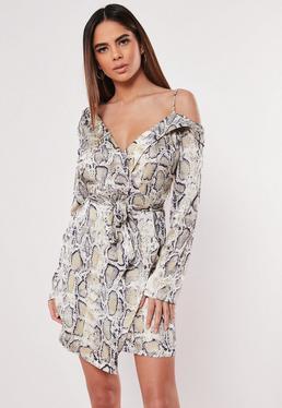 805a8276e0 Wrap Dresses | Wrap dress & Tie Waist Dresses - Missguided