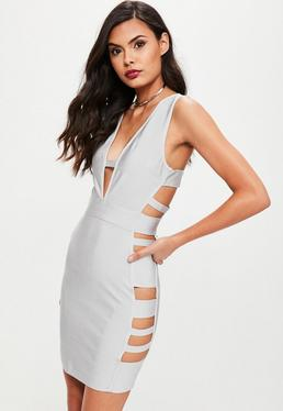 Grey Bandage Dress