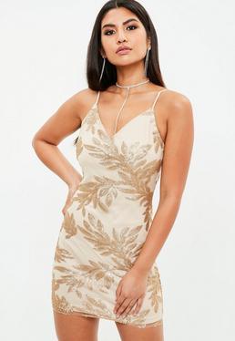 Gold Leaf Dress