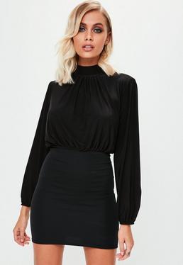 M co black dress party