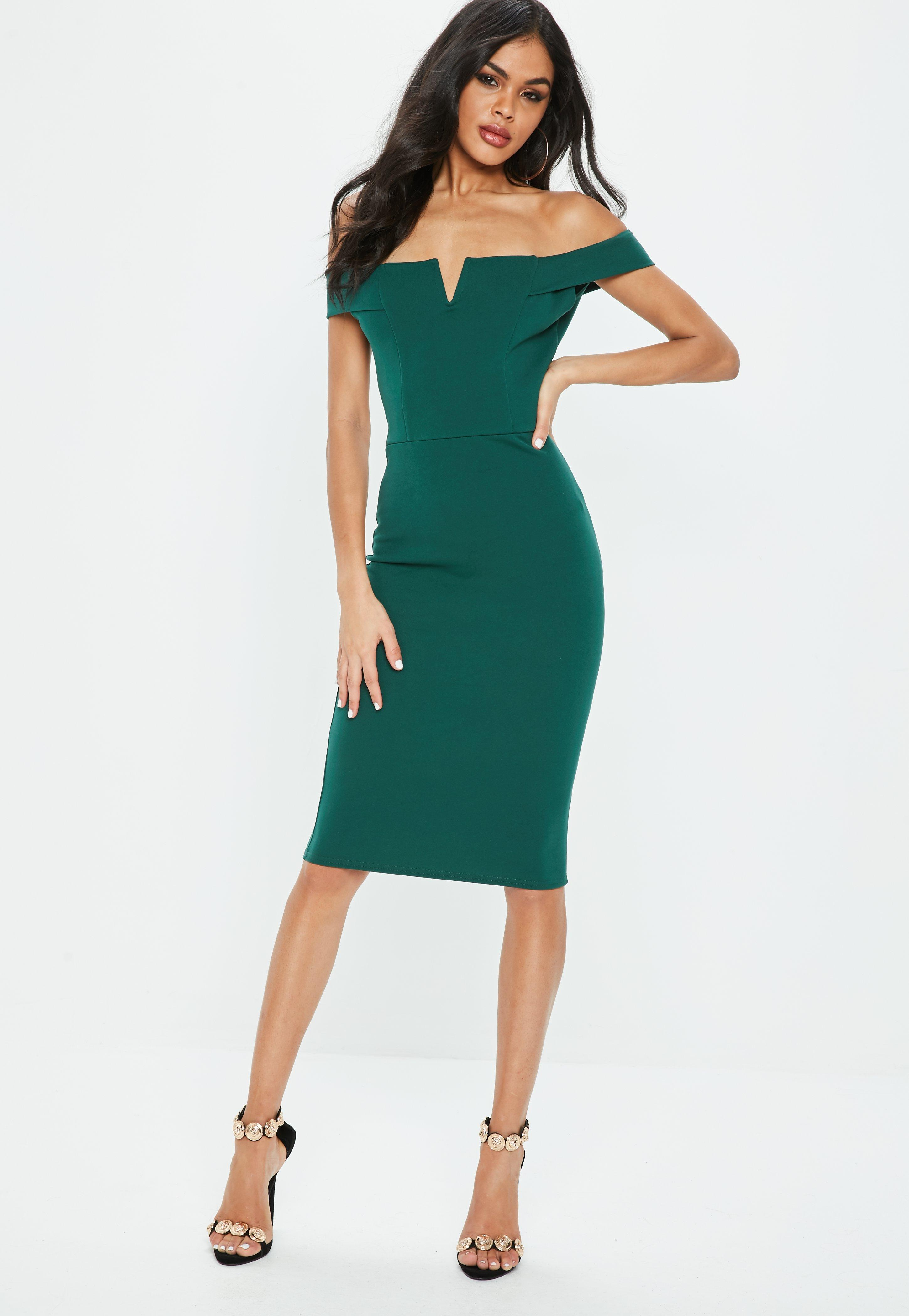 Green Dresses - Emerald & Mint Green Dresses | Missguided