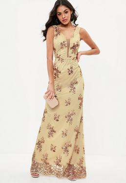 Sequin maxi dresses uk only
