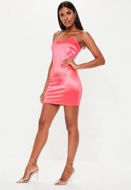 7c839207e54a Pink Dresses | Coral & Hot Pink Dresses - Missguided