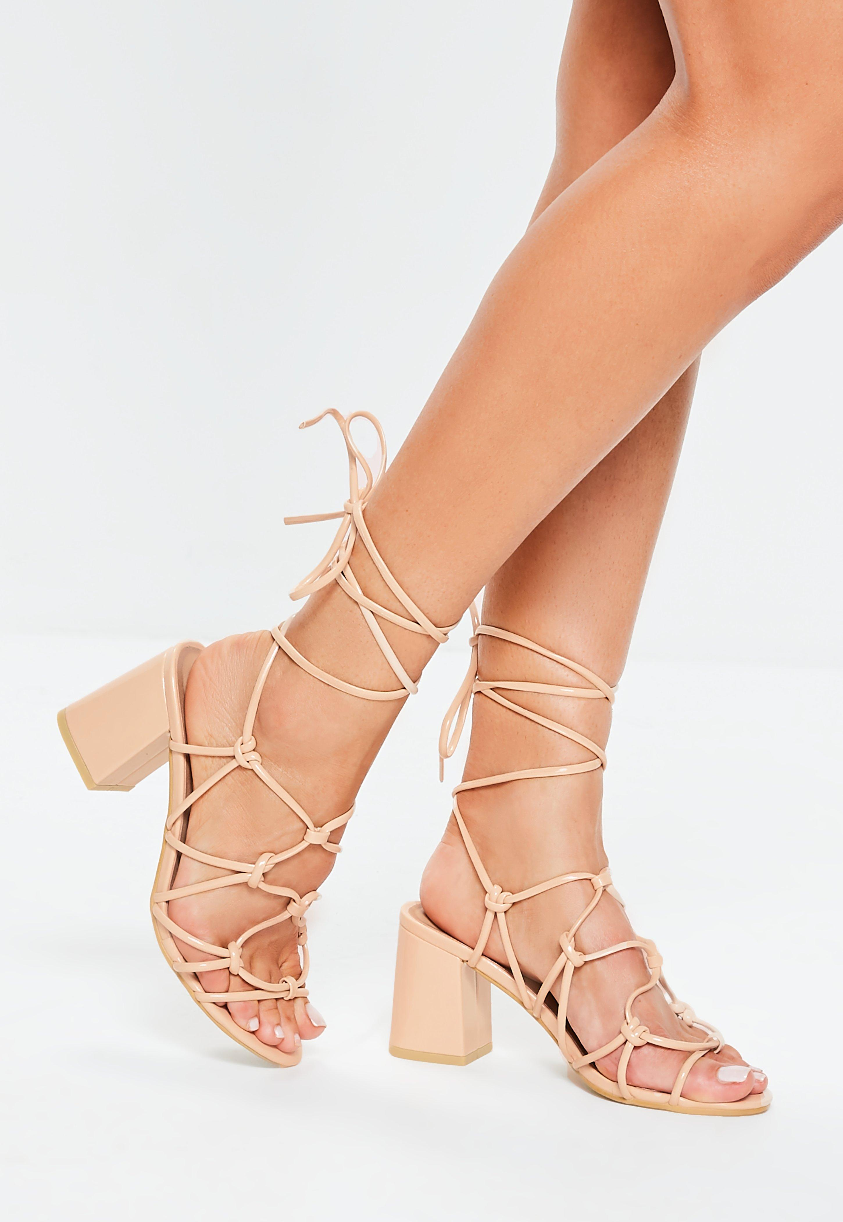 db5358abc365 Lace Up Sandals   Tie Up Sandals Online - Missguided