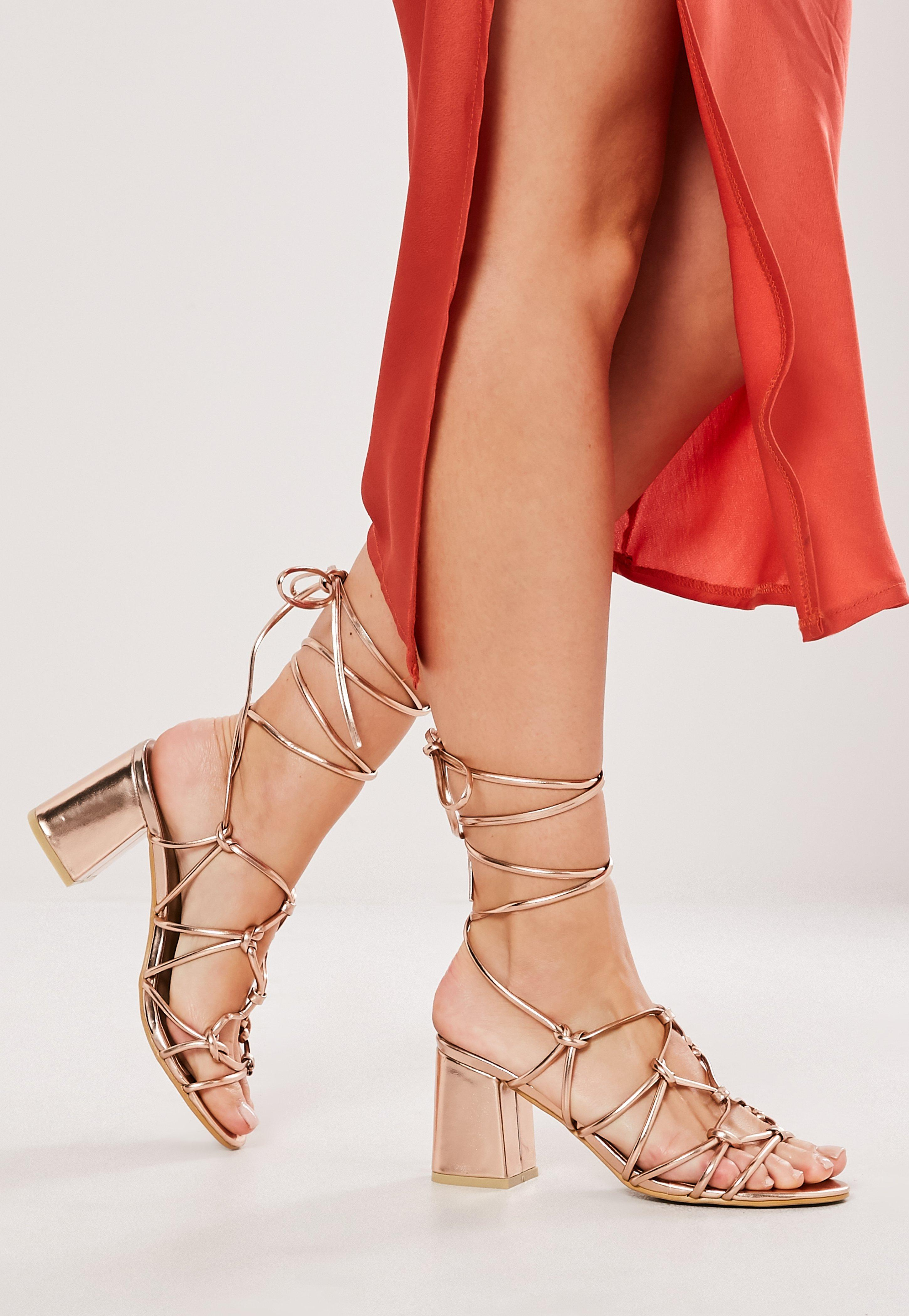 30a62aef377 Lace Up Heels