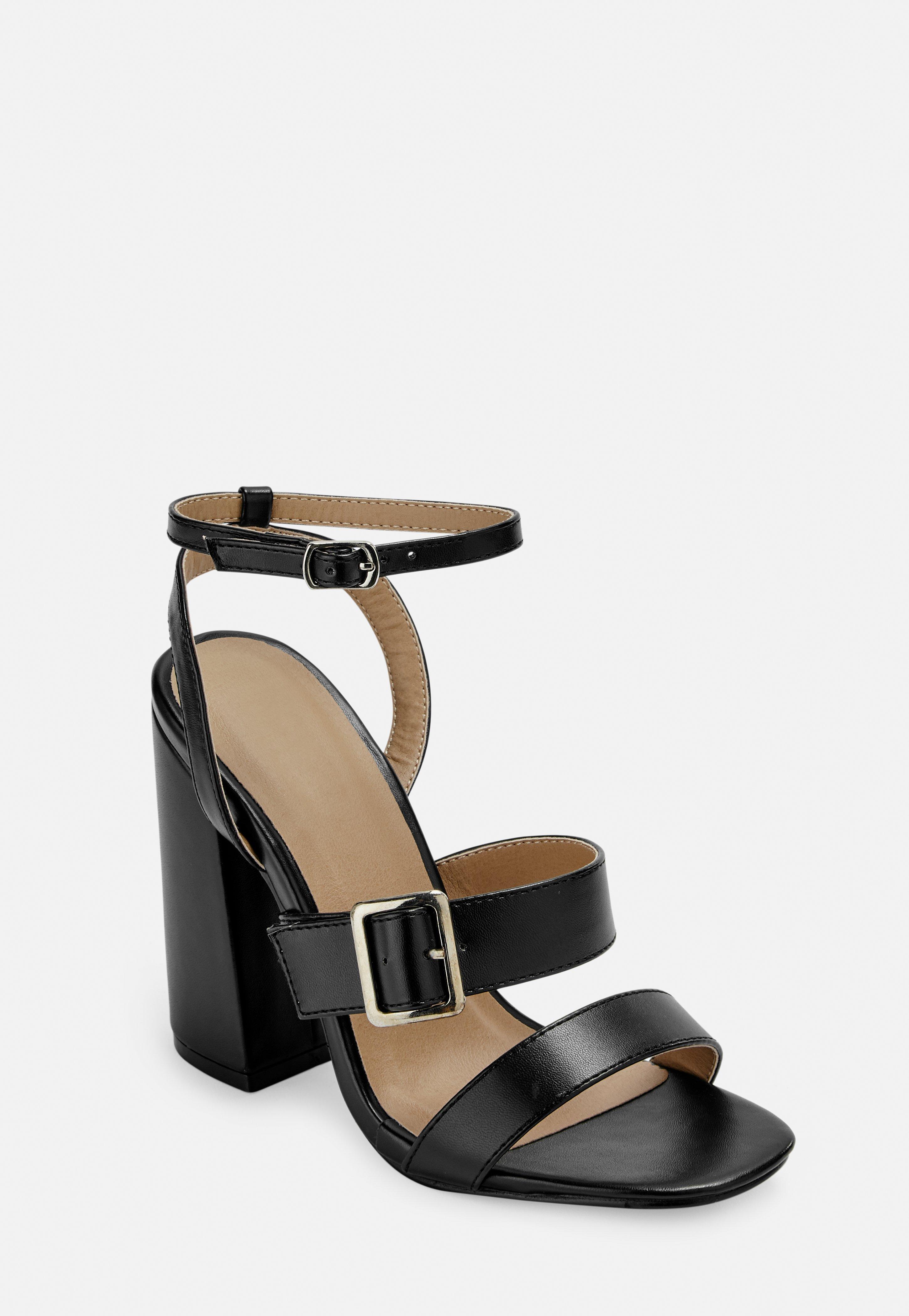 8d654877e8 Block Heels | Chunky Heels & Block Heel Sandals - Missguided