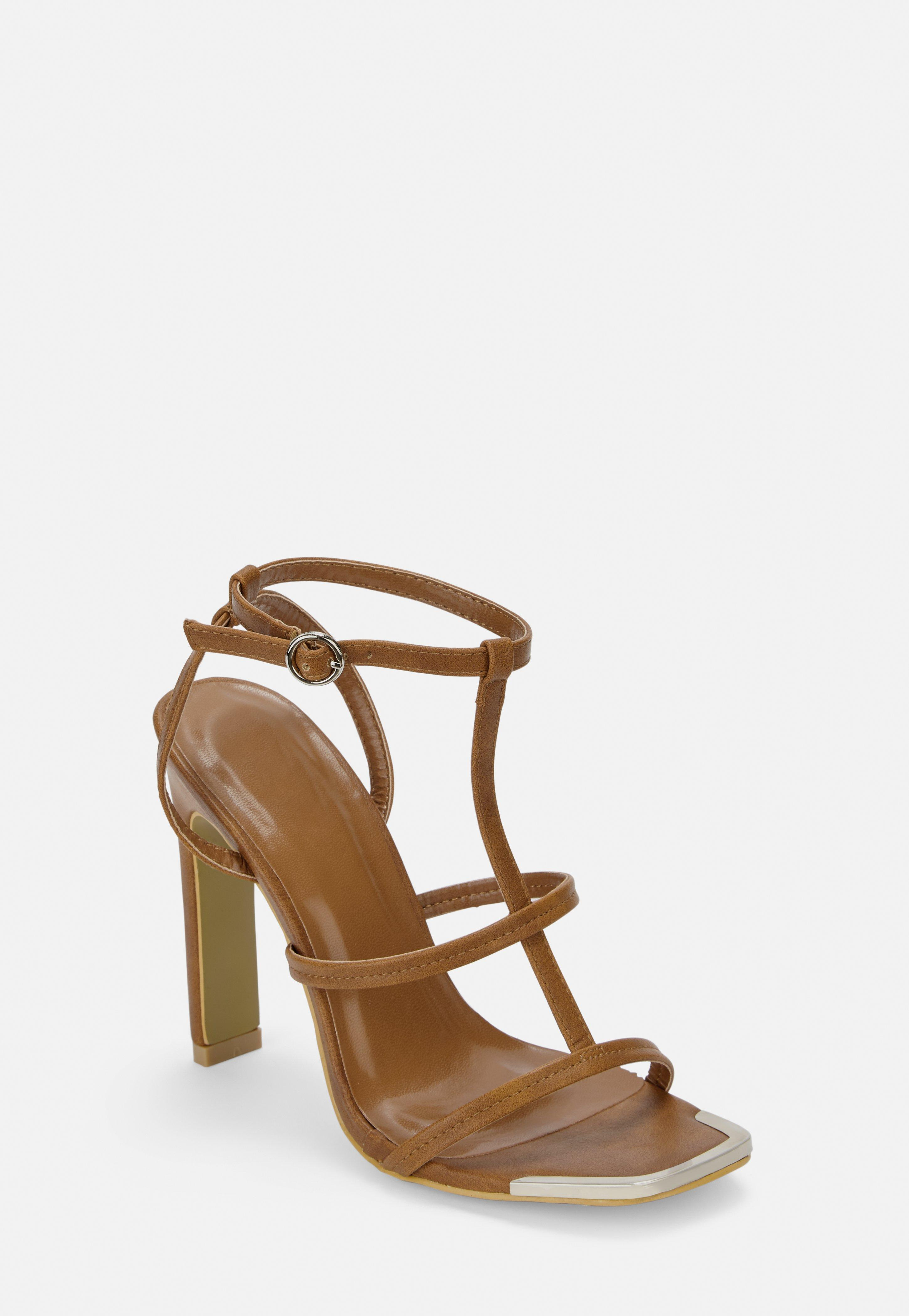 e88e032fcd Heeled Sandals | Strappy & Barely There Heels - Missguided