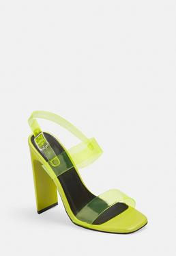 Желтые прозрачные ремешки
