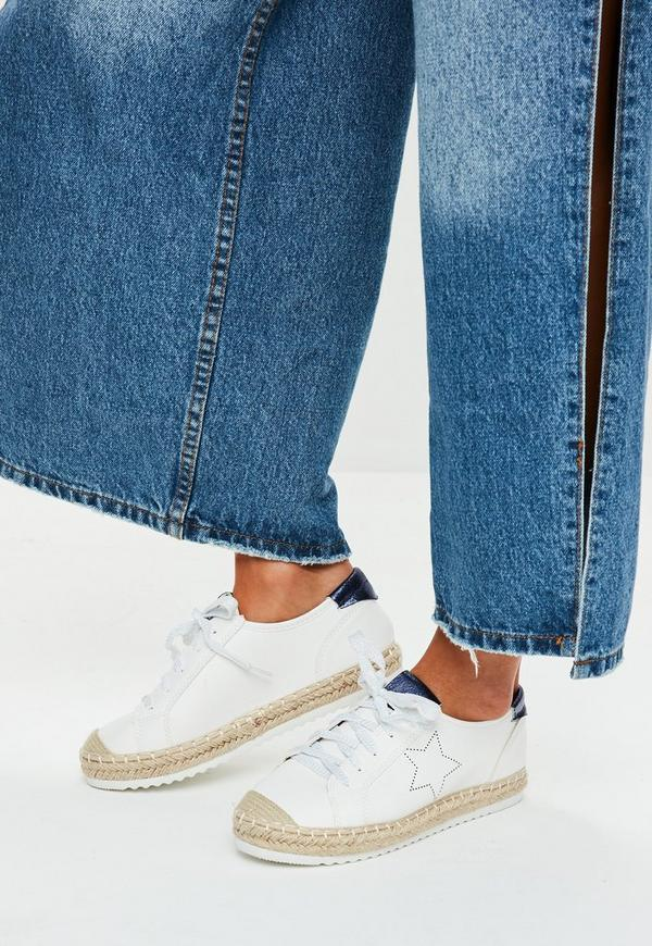 White Star Detail Trainers