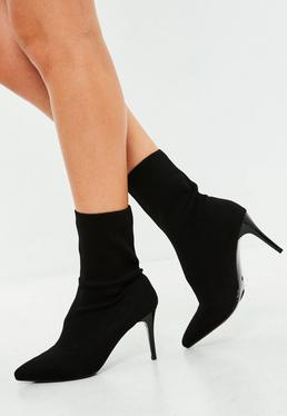 Black Pointy Ankle Boots