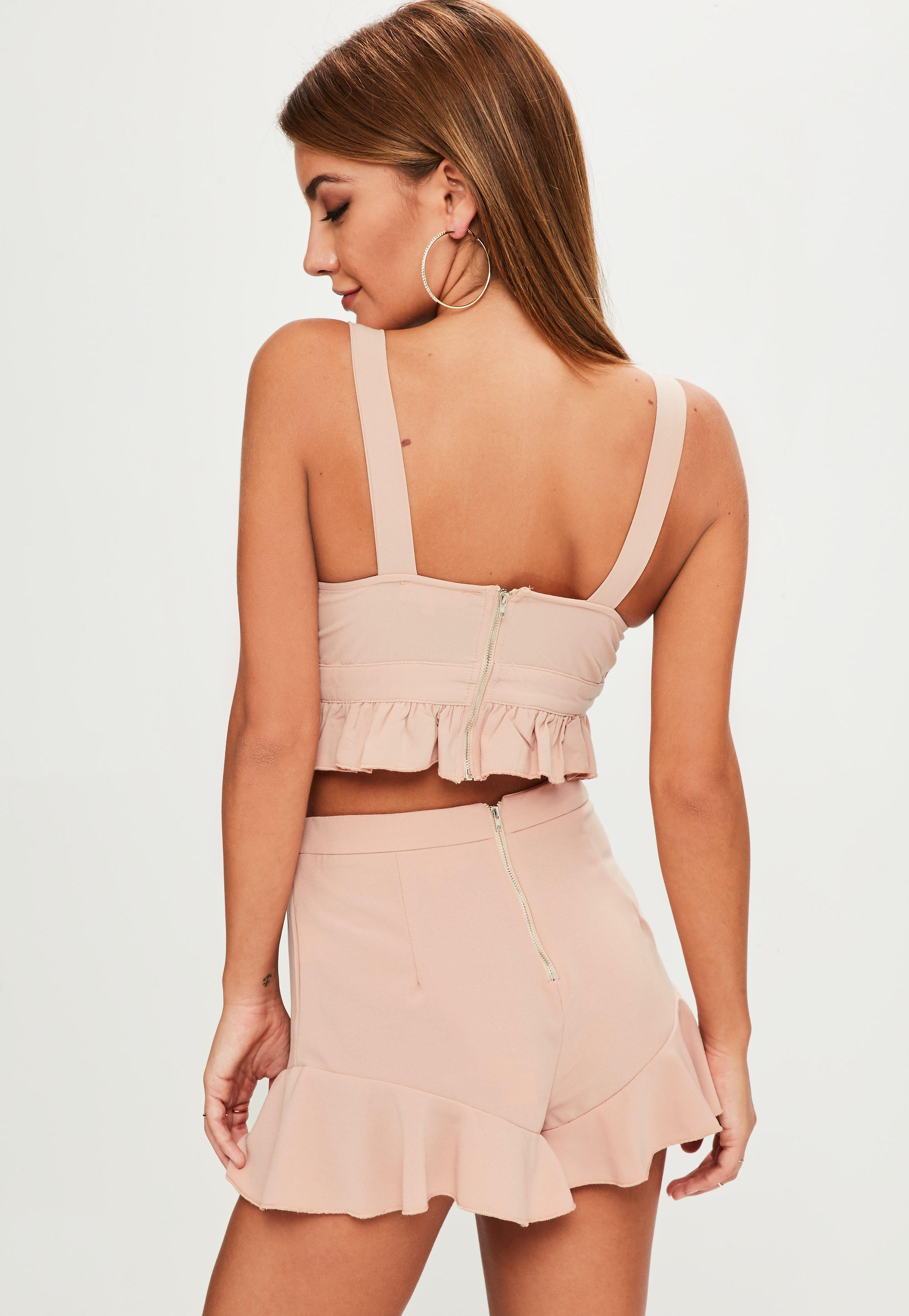 Missguided Striped Shorts CO ORD Set Cheap Sale Release Dates Cheap Buy Authentic Buy Cheap Latest Collections nWxItavz4