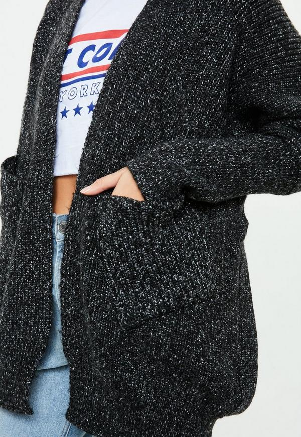 Black Chunky Knit Sweater | Missguided