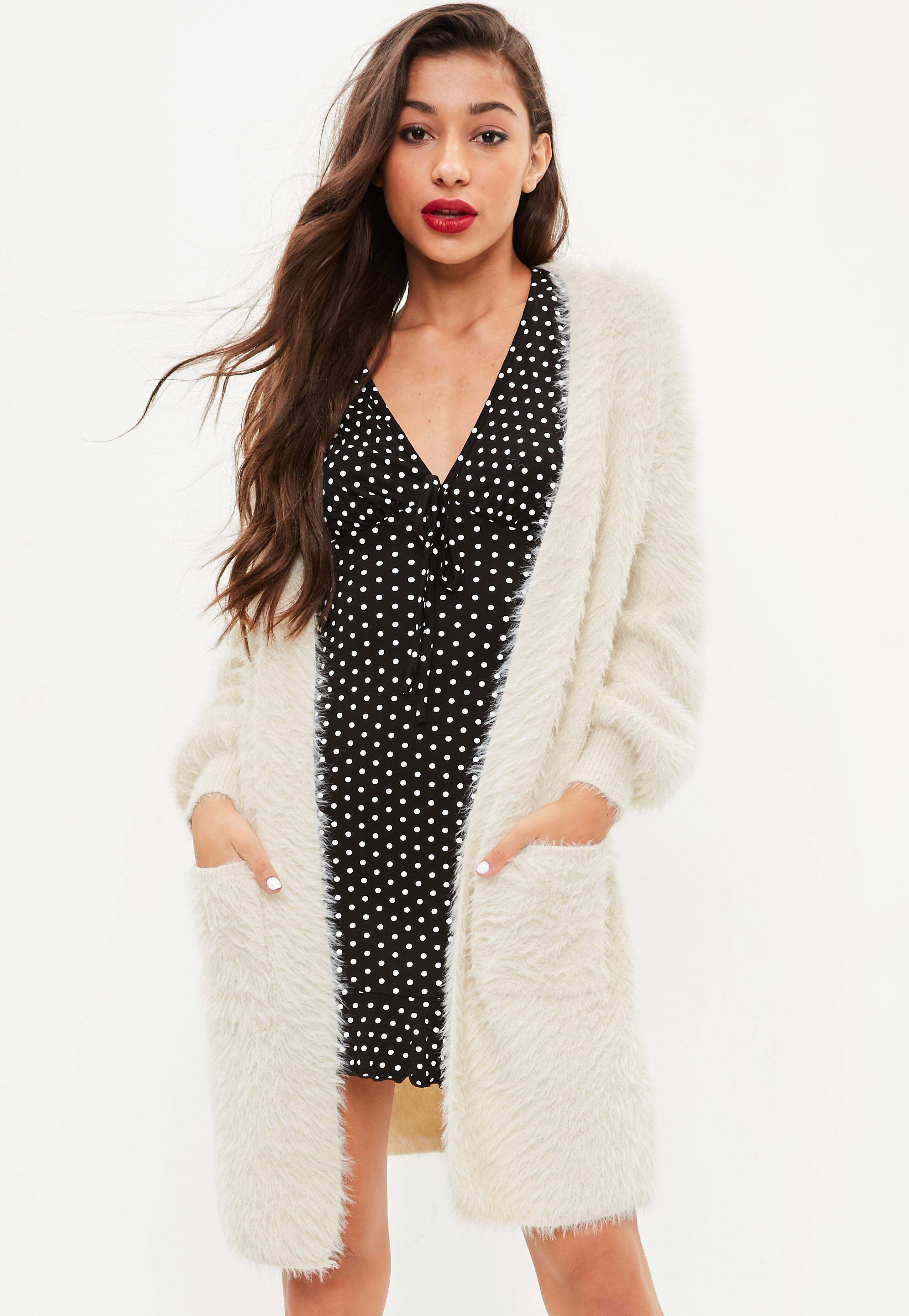 Fluffy Cardigans for Women | Missguided