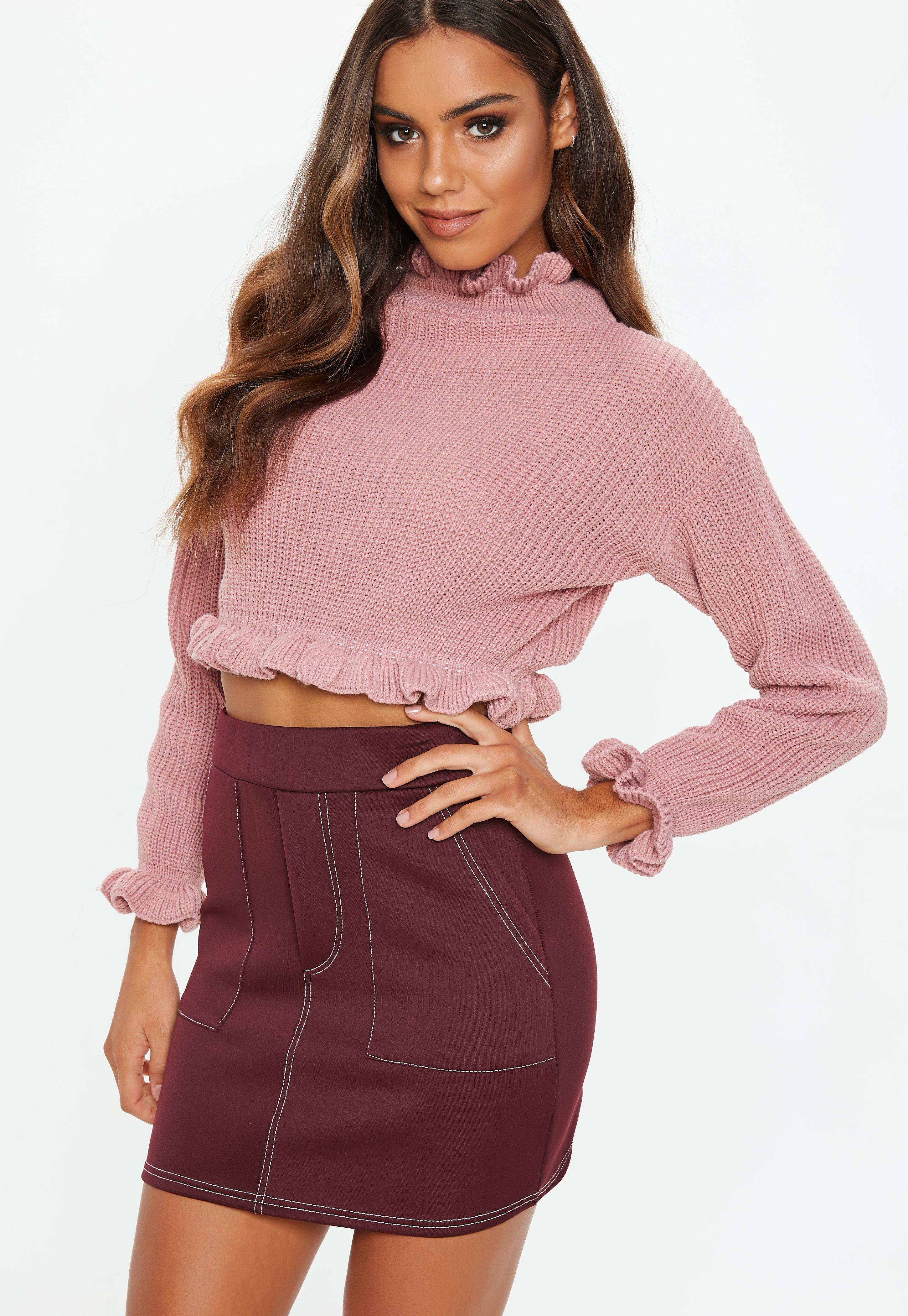 e1070f5e131 Cropped Jumpers | Shop Short Jumpers - Missguided