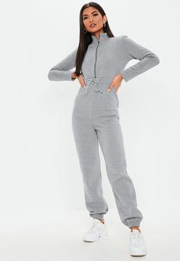 a93390845 Grey Jumpsuits | Dark & Light Grey Jumpsuits - Missguided