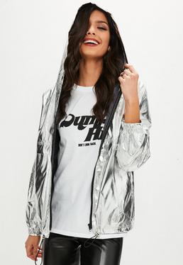 Silver High Shine Jacket
