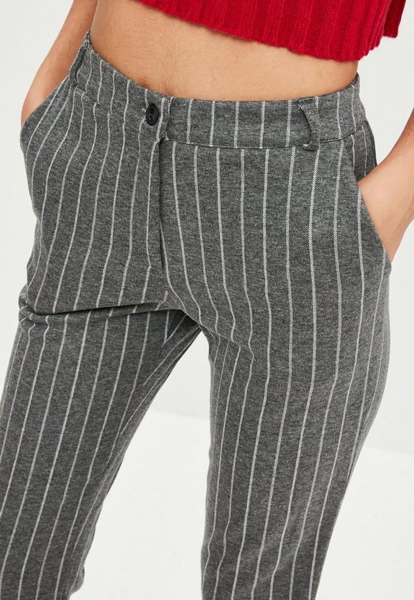 Grey tweed high waisted wide leg trousers Save. £ Maine New England Grey straight leg Pablo trousers Save. £ Dorothy Perkins Maternity charcoal checked ponte treggings Save. Was £ Now £ Dorothy Perkins Grey checked tapered trousers Save. Was £