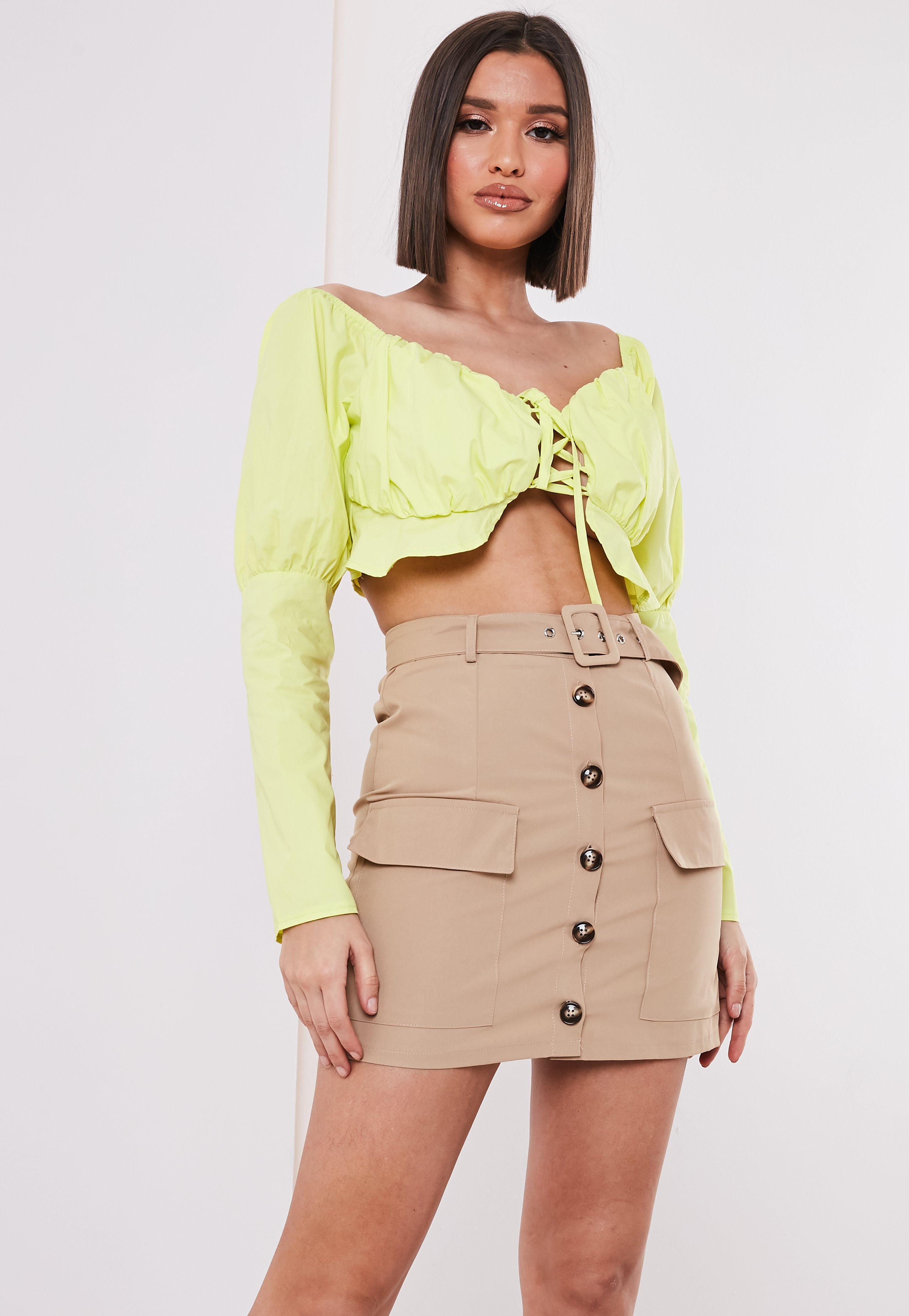 03e97d73d Nude Skirts | Beige & Camel Skirts - Missguided