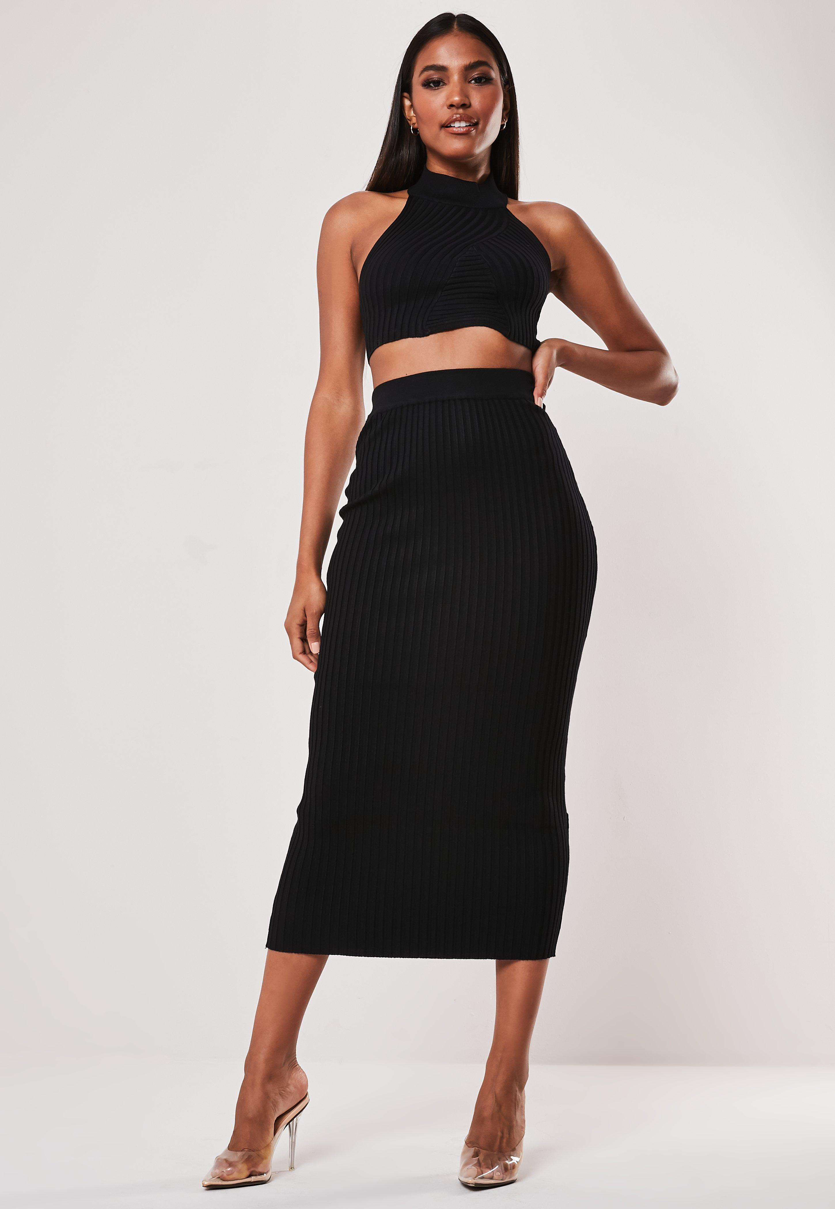 f4e19c437 Midi Skirts | Knee Length & Mid Length Skirts - Missguided