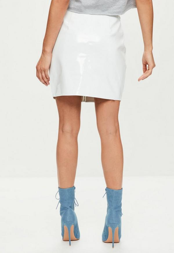 Women's White Carine Vinyl Pencil Skirt $ From Selfridges Price last checked 9 hours ago Product prices and availability are accurate as of the date/time indicated and are subject to change.