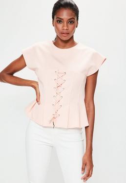 Pink Corset T-Shirt