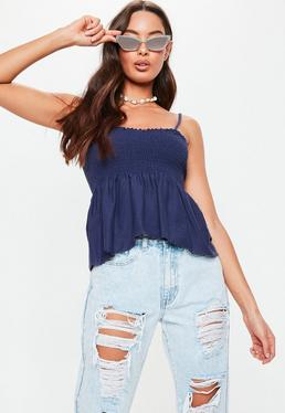 207502ccd595f Cami Tops | Black Cami Tops & Camisole Tops | Missguided