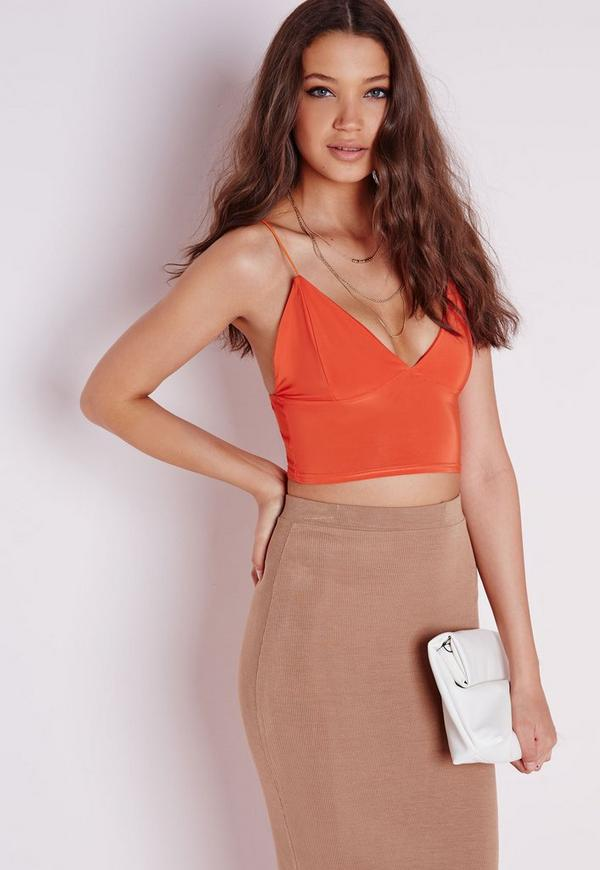 Slinky Bralet Orange