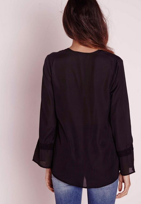 Wrap Over Blouse Missguided 31