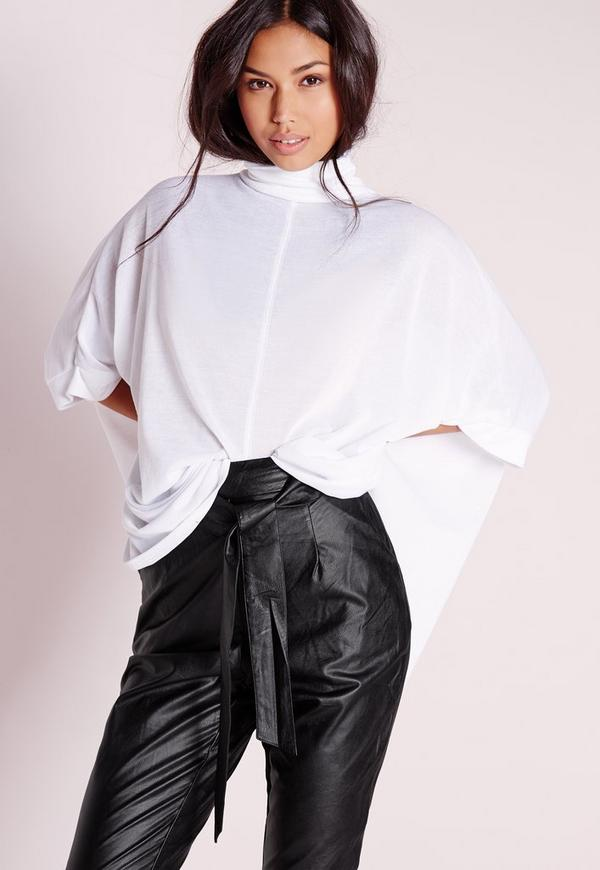 Cut and Sew Kimono White