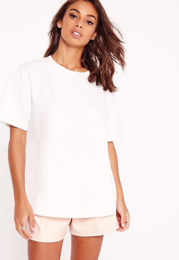 Oversized Sweatshirt White