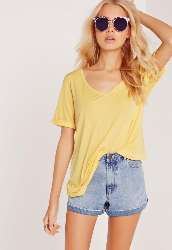 Boyfriend T-Shirt Yellow