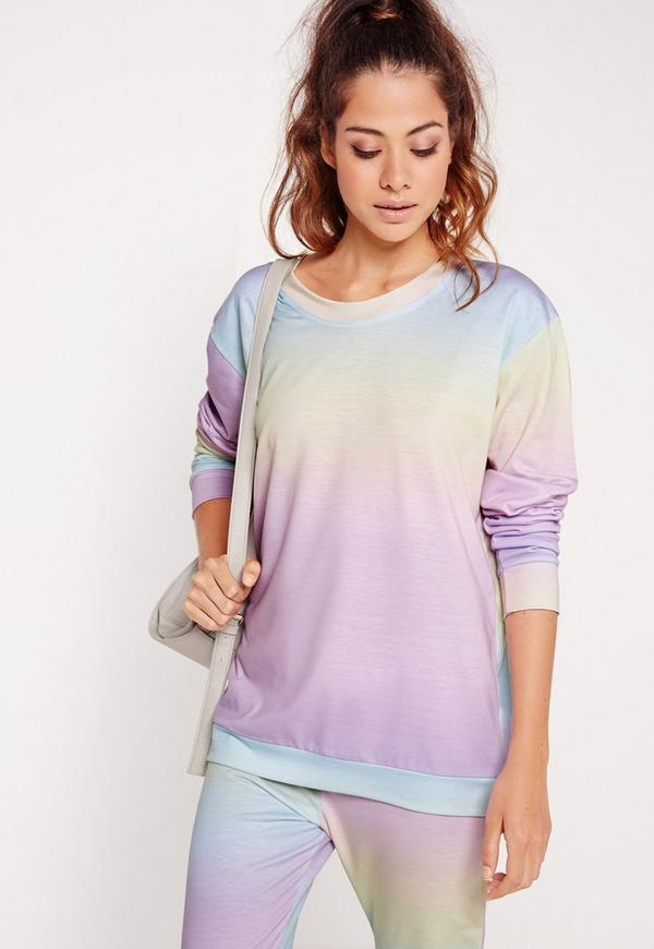 Rainbow Sweatshirt Multi