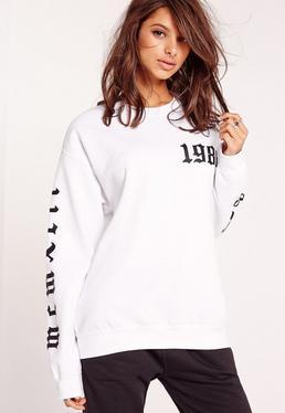 1986 LA Sweatshirt White