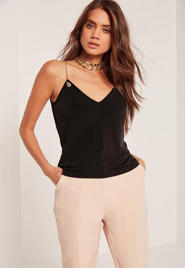 Our plus size camisoles and tanks come in a variety of silhouettes and necklines designed with you in mind. Slip into a plus size tube top for a sexy summer look or go casual in a trendy plus size racerback tank matched with a pair of distressed jeans.