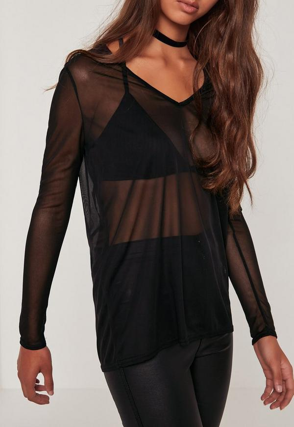 Find long sleeve black mesh top at ShopStyle. Shop the latest collection of long sleeve black mesh top from the most popular stores - all in one.