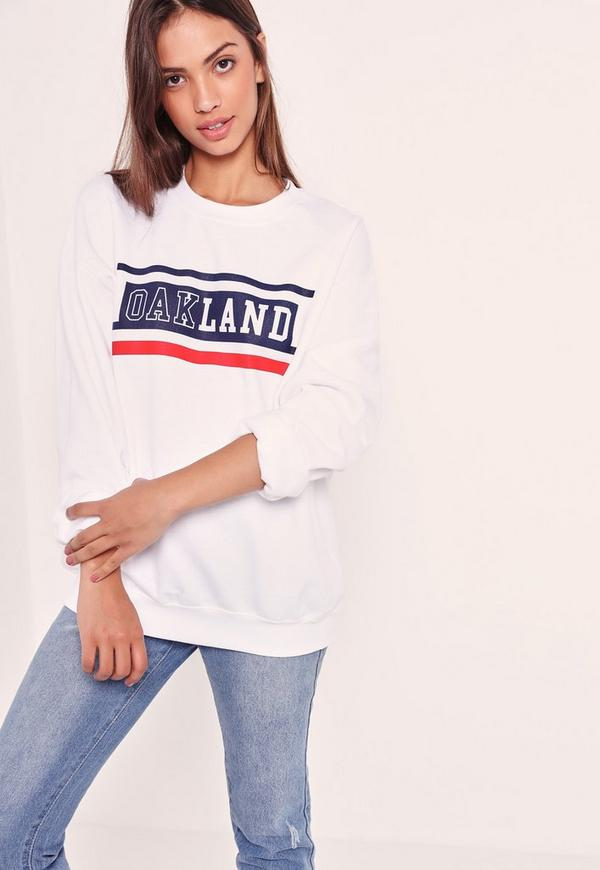 Oakland Sweatshirt White