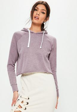 Purple Washed Hoodie