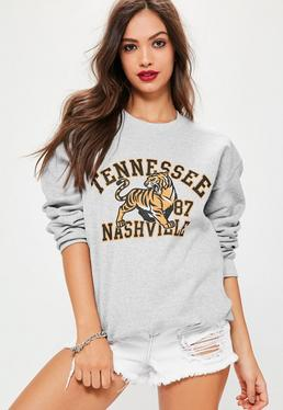 Tennessee Nashville Sweatshirt Grey