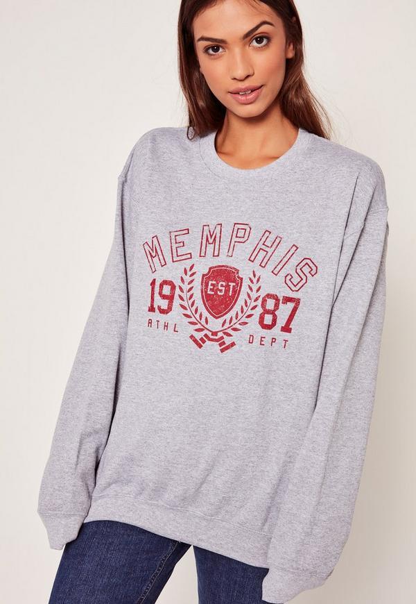 Memphis 1987 Sweatshirt Grey
