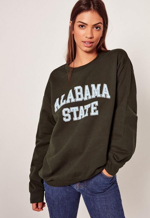 Alabama State Sweatshirt Green