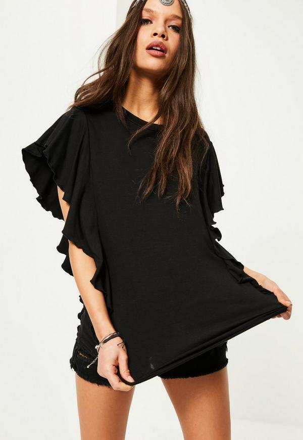 Find great deals on eBay for Black Ruffle Shirt in Tops and Blouses for All Women. Shop with confidence.