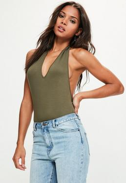 Neckholder Body in Khaki