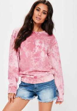 Pink Washed Sweatshirt