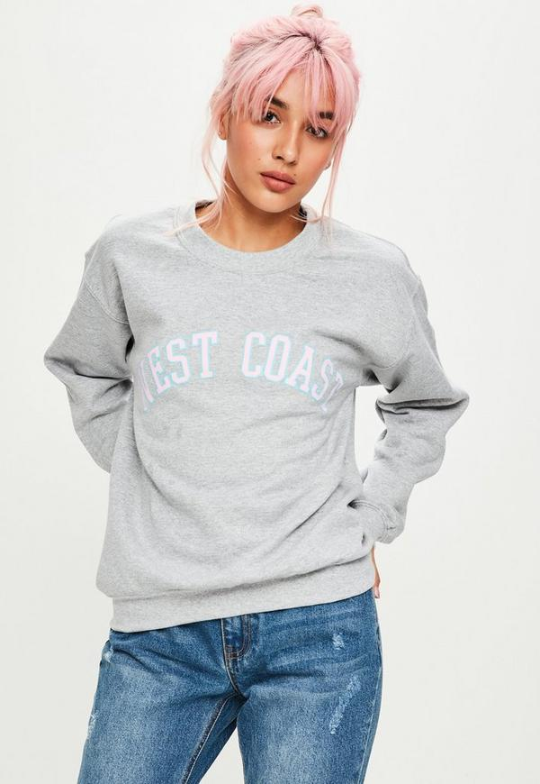 Grey West Coast Sweatshirt